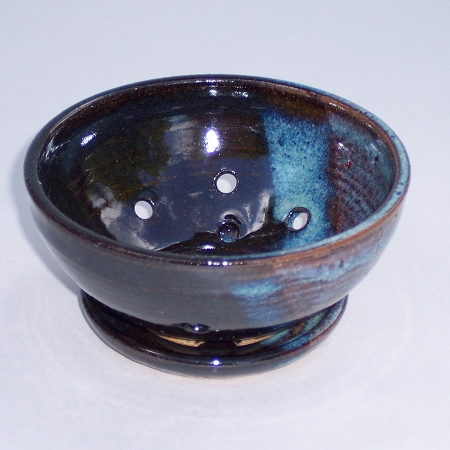 Hand Thrown Pottery Soap Dish