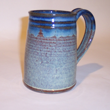 Buy Vermont Hand Thrown Stoneware Pottery Large No Tip Mugs Online Blue Green